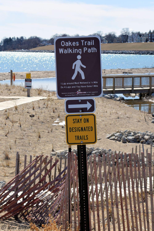 WW Trail Sign